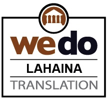 Document translation services Lahaina HI