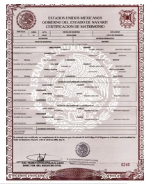 Marriage Certificate Translations
