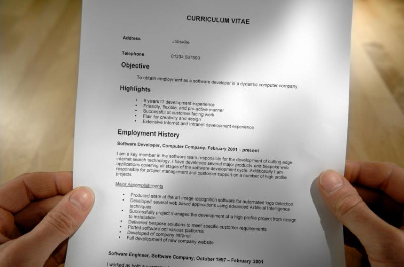 Resume Translation