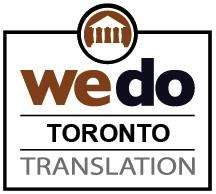 Document translation services Toronto ON